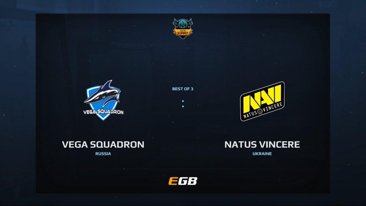 Vega Squadron vs Natus Vincere, Game 1, Dota Summit 7, EU Qualifier