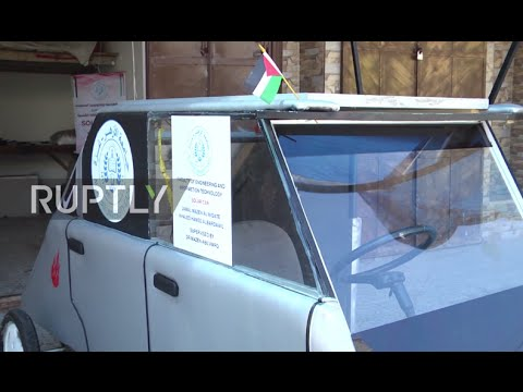 State of Palestine: Gaza Strip students build solar car to help battle fuel shortage