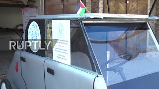 فلسطينيان يبتكران سيارة شمسية لكسر الحصار الإسرائيلى.. فيديو
