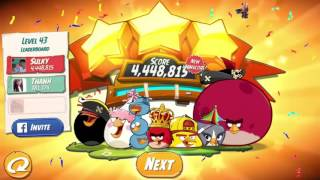 Angry Birds 2 Level 1 | những chú chim nổi giận | Game androi-IOS