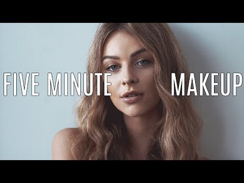 Everyday Makeup in 5ish Minutes thumbnail