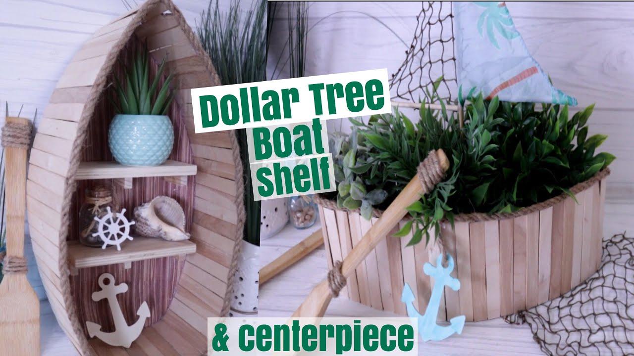 Dollar Tree Diy Nautical Boat Shelf