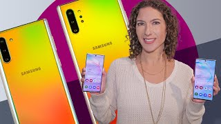 The new Galaxy Note 10 and 10 Plus first impressions