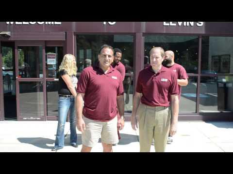Levin Furniture ALS ice water bucket Challenge - Monroeville, PA