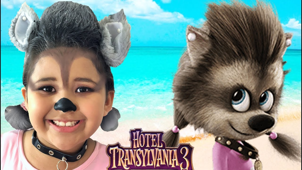Hotel Transylvania 3 Halloween Costumes Toys And Winnie Makeup Youtube