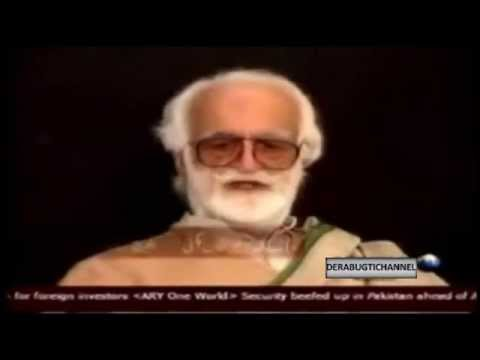 Nawab Akbar Bugti with Dr. Shahid Masood | Full interview