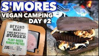 Vegan S'mores | Beyond Burger & Camping Day 2
