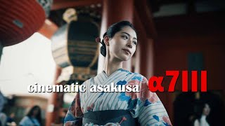 a7III 浴衣と浅草寺動画 Cinematic Japan