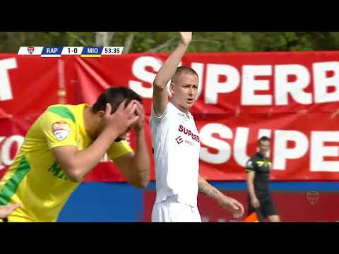 REZUMAT | Rapid București - CS Mioveni 1-1 | Liga 2, play-off, 2020-2021