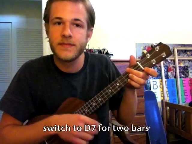 Ukulele Lesson How To Play The 12 Bar Blues Chords Chordify