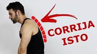 COMO CORRIGIR HIPERCIFOSE (EXERCÍCIOS FÁCEIS)