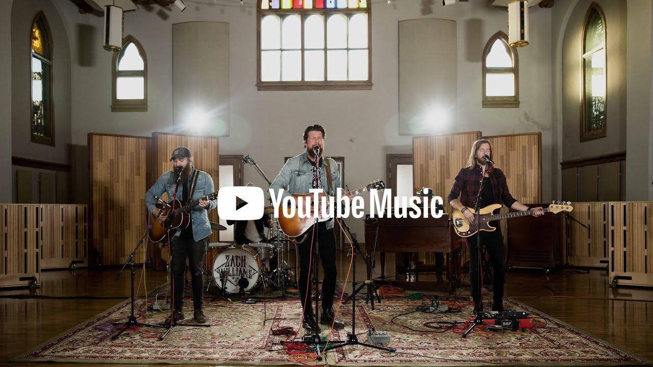 Zach Williams - Chain Breaker (Live bij YouTube Nashville Sessions)