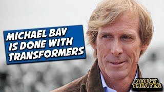 Michael Bay OFFICIALLY Not Returning To TRANSFORMERS