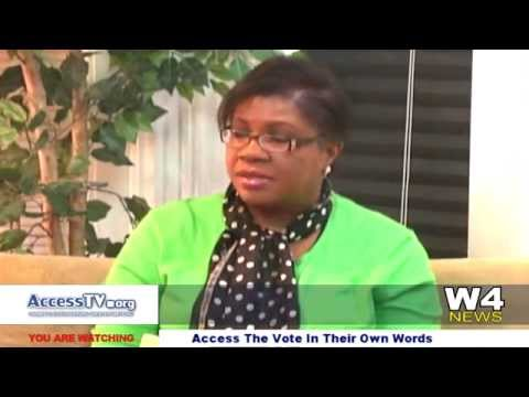 W4 News – Access The Vote – In Their Own Words – Suzann Beckett – 10/20/2015