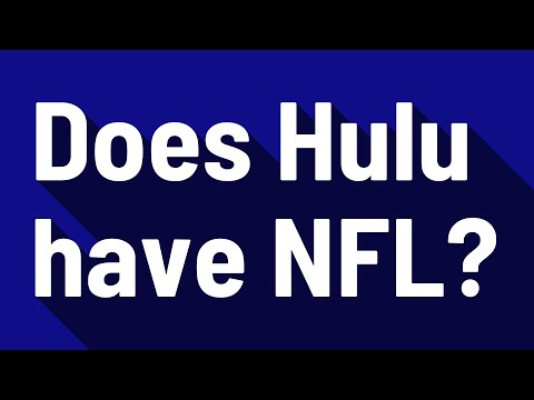 Does Hulu Have NFL?