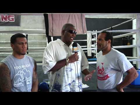 Boxing Champion Luis Arias & Trainer John David Jackson Interview