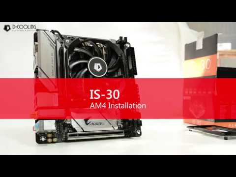 ID-COOLING IS-30 AM4 Installation