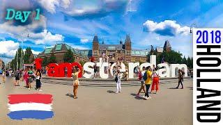 Amsterdam, Netherlands, Europe Mainland Tour, VLOG Day 1
