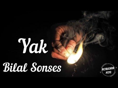Bilal Sonses - Yak (Şarkı Sözü/ Lyrics) HD