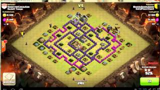 Clash of Clans WAR solid pinoy clan 4 Boom dragun attack