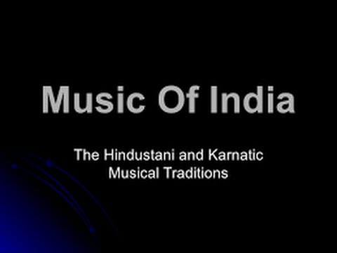 Difference Between Hindustani and Carnatic(music)