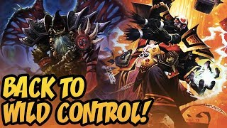 Back To Wild Control! | Rise of Shadows | Hearthstone