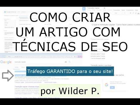 Freelancer Redator - Artigo com Técnicas de SEO (Estrutura) por WILDER PATRIC