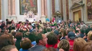 16 aprile, la banda in Cattedrale