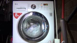 lg f1222td direct drive washing machine synthetics pre wash 2 10