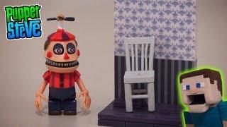 Five Nights at Freddy's fnaf McFarlane toys lego Fun Nightmare Balloon Boy construction set unboxing
