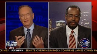Bill O'Reilly Shuts Down Dr. Ben Carson On Domestic Abuse