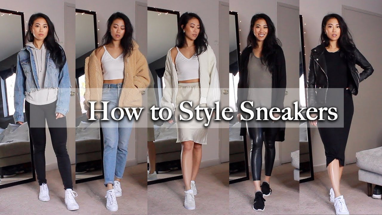 [VIDEO] - HOW TO STYLE SNEAKERS / NOT SO BASIC OUTFITS | CHRISTINE LE 2