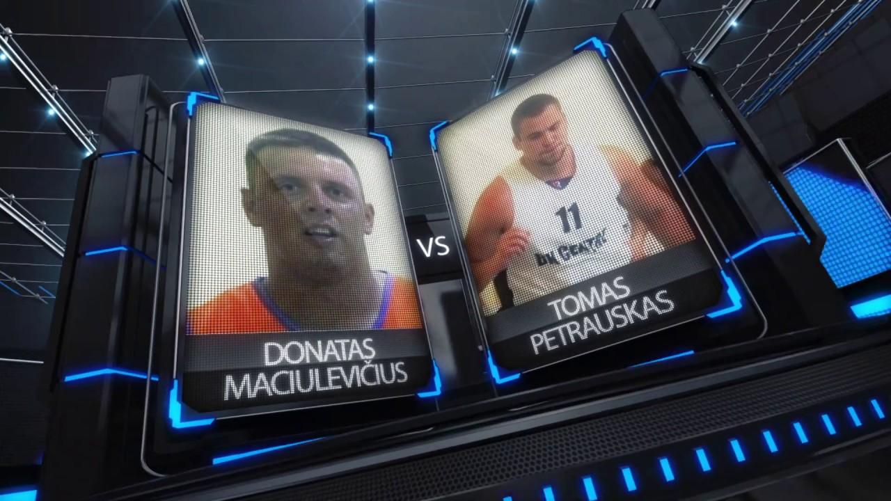 TOPsport Ghetto King 1x1: Donatas Maciulevičius vs Tomas Petrauskas