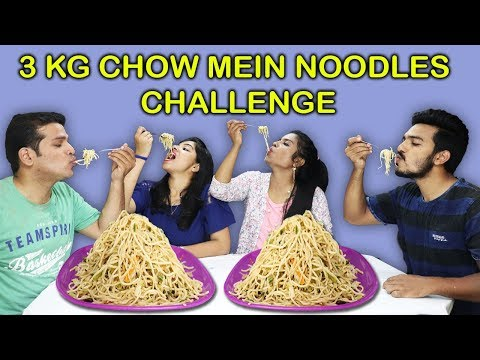 3 KG CHOW MEIN NOODLES CHALLENGE |3 KG Chow Mein Eating Competition |3 kg चावमीन नुडल्स चॅलेंज