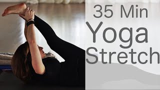 35 Minute Yoga Stretch With Fightmaster Yoga
