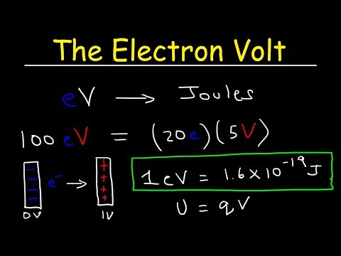 Electron Volt Explained, Conversion to Joules, Basic Introduction