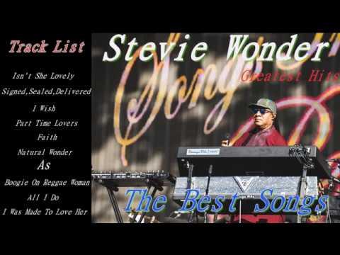 Stevie Wonder Greatest Hits[ Full Album] Cover_The Best Songs of Stevie Wonder Nonstop Playlist