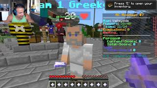 Tyler1 and Greekgodx playing at KeemStar's Minecraft Monday