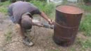 How To Build An Oil Drum Barbecue Bbq