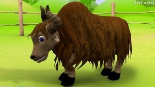 Creador Yak Rhymes | Alphabet Song 3d nursery rhymes for kids with ...
