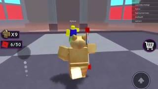 Studboy60 as doge again crazy bank heist boss fight Roblox