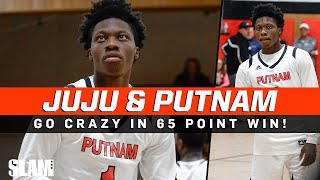 "Jaylen ""Juju"" Murray and Putnam Science Go Crazy In Home Opener! Win by 65 Points 😈"