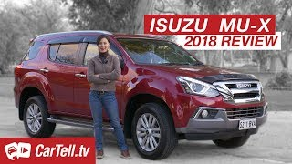 2018 Isuzu MU-X LS-T Review | CarTell.tv