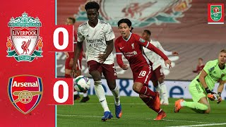 Highlights: Liverpool 0-0 Arsenal | Reds go out on penalties