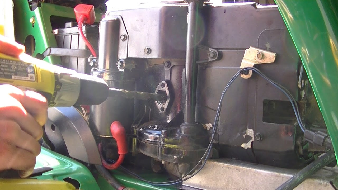 Installing Custom Lawn Mower Fuel Pump Youtube