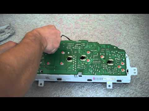 hqdefault tutorial take apart gauge cluster in a 1995 honda accord youtube