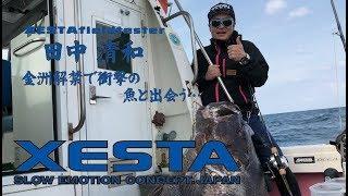 XESTATV tester田中氏 快挙達成!夢の大台イシナギ100㎏オーバーをキャッチ!!
