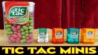 TIC TAC MINIS - RIESENBOX MIT 60 KLEINEN ZWERGEN