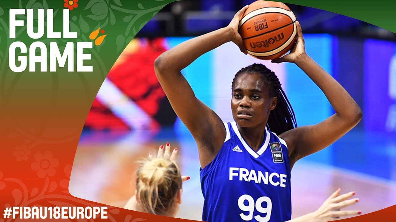 Russia v France - Full Game - Round of 16 - FIBA U18 Women's European Championship 2017