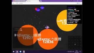 alis.io, gota.io, roblox and agar.city. live-valenYT gamer
